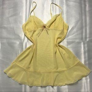Victoria's Secret Vintage Yellow Slip💛